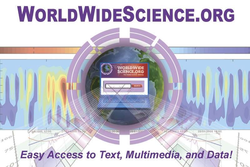 WorldWideScience.org - Easy Access to Text, Multimedia, and Data!